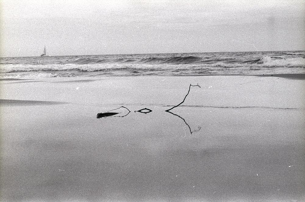 Fotografia de una playa con estilo fotografico