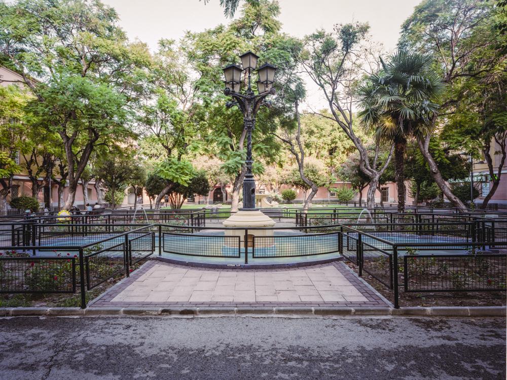 Fuente de la Plaza de los Patos en Vistabella