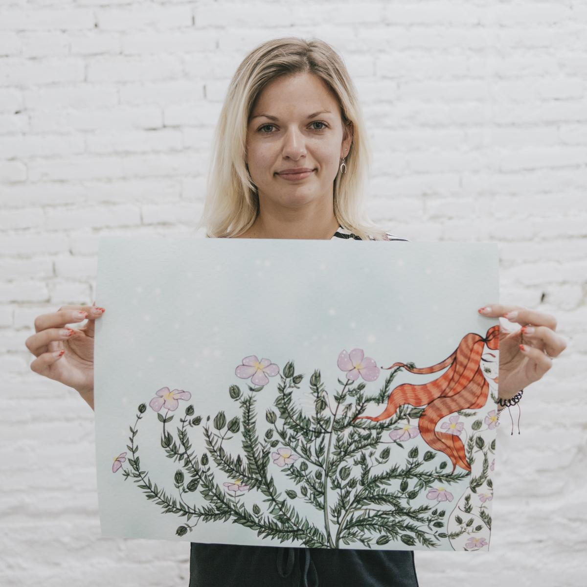 Retrato de Valeria Duka por La Cámara Roja